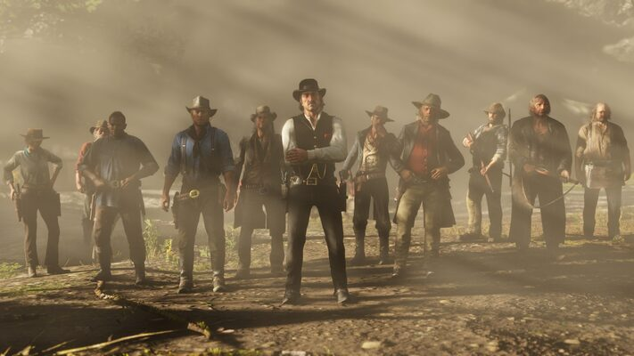 Red Dead Redemption 2: Stop the Bear Attack with a Gaze