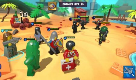 LEGO Legacy – the first game on the famous designer of the RPG genre is already available for download
