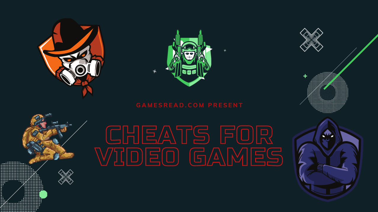 cheats and cheat codes on gamesread.com