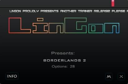 Borderlands 2: Trainer (+28) [1.0.29 - 1.7.0]