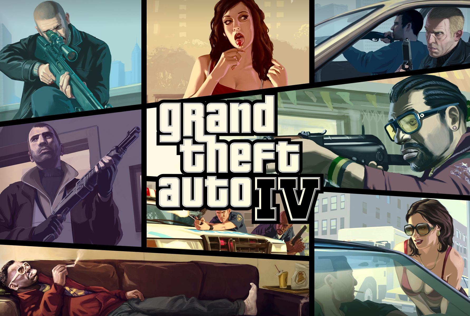 GTA 4: Grand Thef Auto IV: Simple Native Trainer (6.5) [1.0.1.0-1.0.7.0/1.1.1.0-1.1.2.0 EFLC]